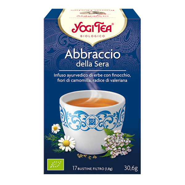 infuso biologico yogi tea
